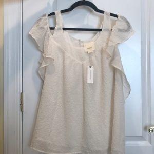 Maeve blouse in cream